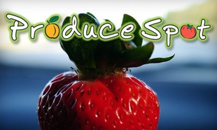 Produce Spot - Ohlone: $10 for $20 Worth of Fresh Fruit, Vegetables, and More at Produce Spot