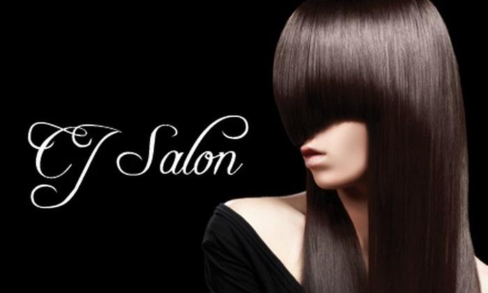 CJ Salon & Spa - Seattle: $39 for $100 Worth of Spa Services or Select Salon Services at CJ Salon & Spa