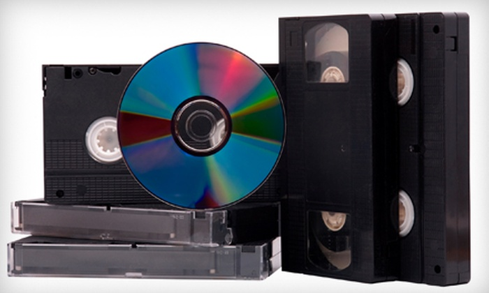 AMR Productions - Novato: $20 for $50 Worth of Video-to-DVD Transfer Services at AMR Productions in Novato