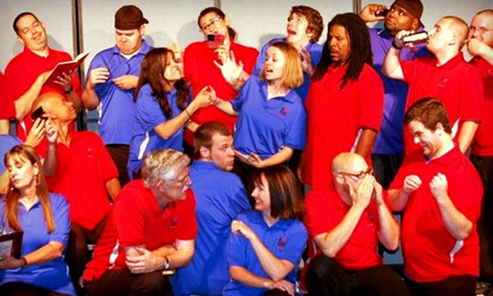 Improv-Comedy Show - Mesa: Improv-Comedy Show with Popcorn and Soda for One or Two at National Comedy Theatre in Mesa (Up to 61% Off)