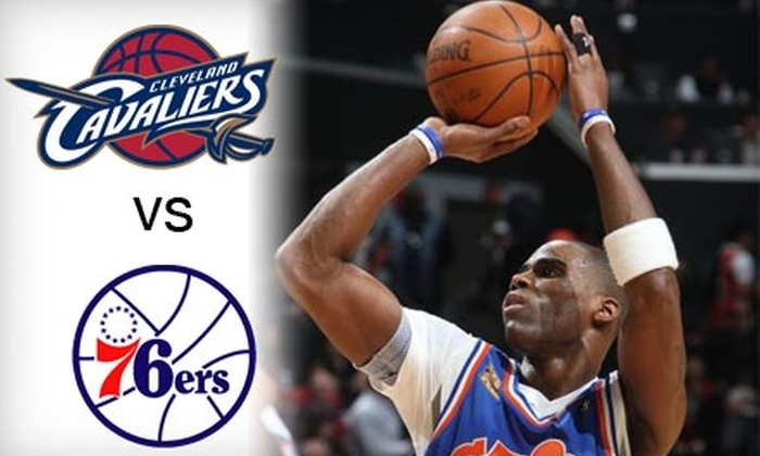 Blue Ridge Sports - Central Business District: Up to 62% Off Two Tickets to Cavaliers vs. 76ers Pre-Season Game at U.S. Bank Arena.  Choose from Two Seating Options.