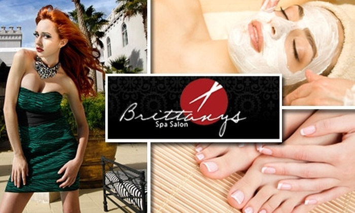 Brittany's Spa Salon - Jacksonville: $35 for One of Three Spa Services from Brittany's Spa Salon