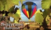 Sunrise Balloons - Murrieta: $98 for Hot Air Balloon Ride and Picnic from Sunrise Balloons ($175 Value) in Temecula