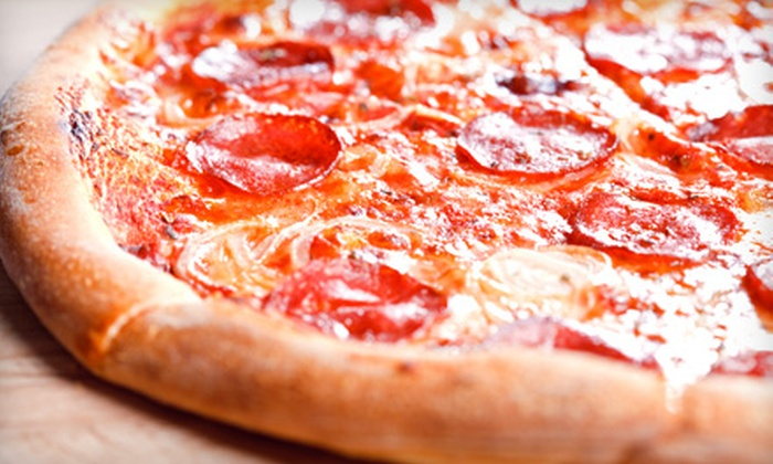 Super Six Pizza - Southcrest: $9 for a Pizza and Wings Combo with Salad and Pop at Super Six Pizza ($18.98 Value)