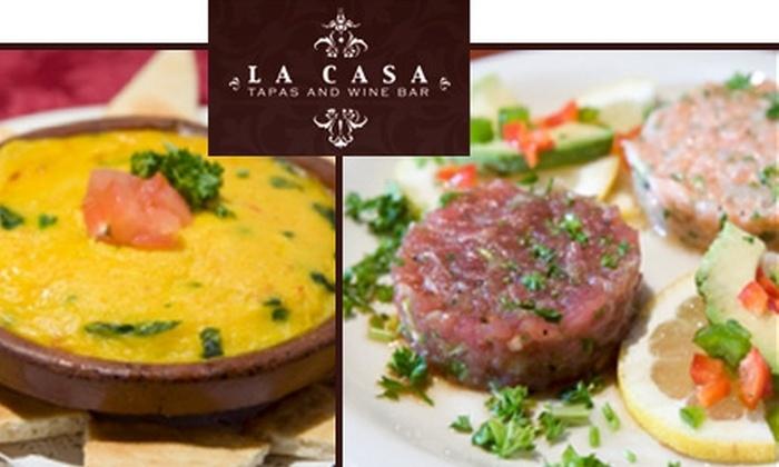 La Casa Tapas and Wine Bar - Shadyside: $20 for $40 Worth of Small Bites and Sips at La Casa Tapas and Wine Bar