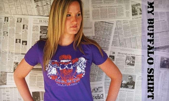 My Buffalo Shirt: $20 for Two Shirts from My Buffalo Shirt Online ($49 Value)