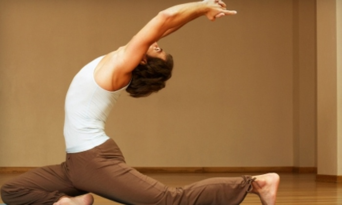 Eightlim Yoga Studio - Camelback East: $30 for One-Month of Unlimited Yoga Classes at Eightlim Yoga Studio ($130 Value)