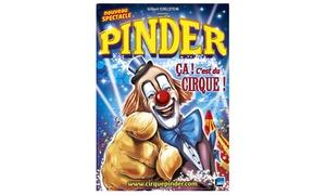 Cirque Pinder: 1 place orchestre pour le spectacle du cirque Pinder à 15 € à Poitiers et Châtellerault