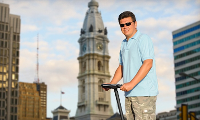 DeTours - Center City East: City Segway Tour for Two or Four from DeTours (Up to 58% Off)
