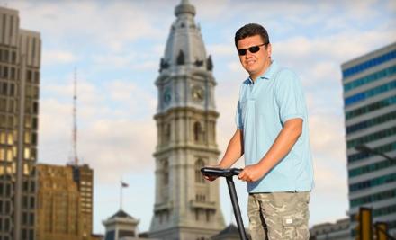 1 City Segway Tour for 2 - DeTours in Philadelphia