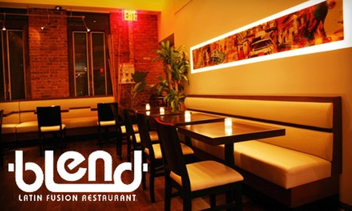 Blend‎ - Hunters Point: $15 for $30 Worth of Latin-Fusion Cuisine at Blend in Long Island City