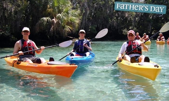 Discovery Kayak Tours - Ocala: $30 for Half-Day Kayak Tour from Discovery Kayak Tours ($65 Value)