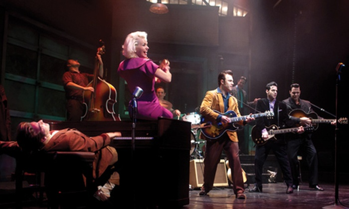 """Million Dollar Quartet"" at Apollo Theater - DePaul: One Ticket to ""Million Dollar Quartet."" 14 Showtimes Available."