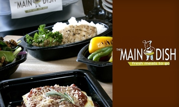 The Main Dish - Bridgeland: $7 for $15 of Chef-Prepared, Healthy Take-Home Cuisine from The Main Dish