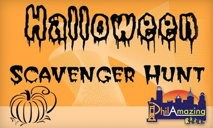PhilAmazing Race - Center City West: $25 for Entry to the Halloween-Themed PhilAmazing Race (Up to $50 Value)