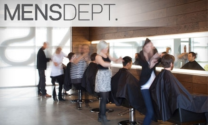 MENSDEPT. - Downtown East: $30 for Two Men's Haircuts at MENSDEPT. ($64 Value)