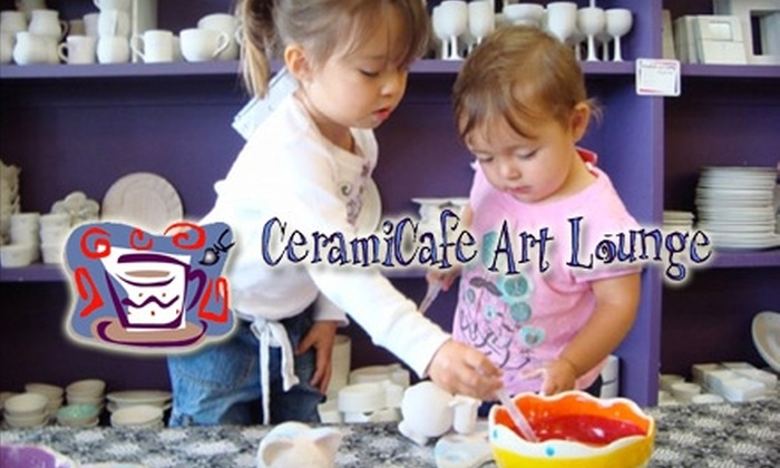 CeramiCafe - Multiple Locations: $10 for $25 Worth of Pottery Painting at CeramiCafe