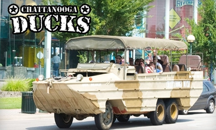 Chattanooga Ducks - Downtown Chattanooga: $10 for an Adult Ticket (Up to $20 Value) or $5 for a Child Ticket (Up to $10 Value) for a Chattanooga Ducks River Tour