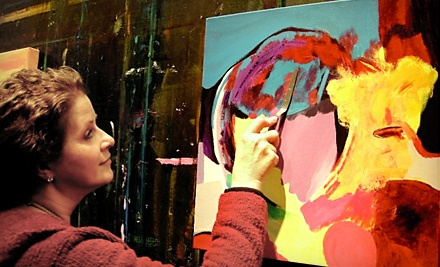 1-Hour Art Lesson for 1 ($70 Value) - Art Class Dallas in Dallas