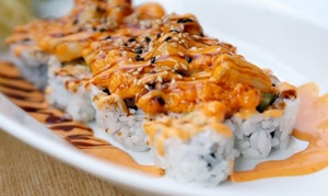 Wabora: $18 for $30 Worth of Sushi and Japanese Cuisine for Two at Wabora