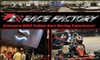 F1 Race Factory - Camelback East: $33 for Three Races at F1 Race Factory ($69 Value)