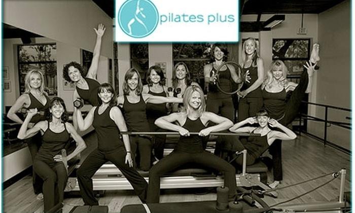 Pilates Plus - Multiple Locations: $49 for Five Group SPX Classes at Pilates Plus ($155 Value)