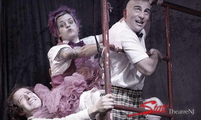 """State Theatre - New Brunswick: $15 for One Ticket to """"500 Clown Macbeth"""" at the Crossroads Theatre (Up to $30 Value) or $18 for One Ticket to """"Streb: Brave"""" at the State Theatre (Up to $45 Value) in New Brunswick. Four Dates Available."""