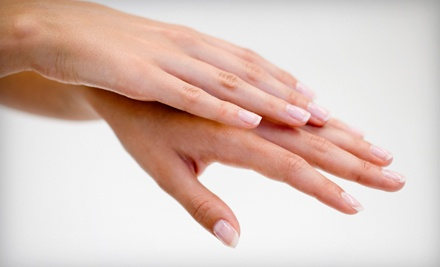 1 Basic Manicure With Gel Polish (a $35 value) - DuBunnes Salon & Spa in Eugene