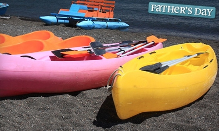 Lisa's Kayaks Inc. - North Beach: $32 for a Full-Day Kayak Rental for Two at Lisa's Kayaks Inc. in Fort Pierce ($64 Value)