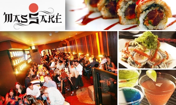 Mas Sake - San Francisco: $25 for $50 Worth of Sushi at Mas Sake