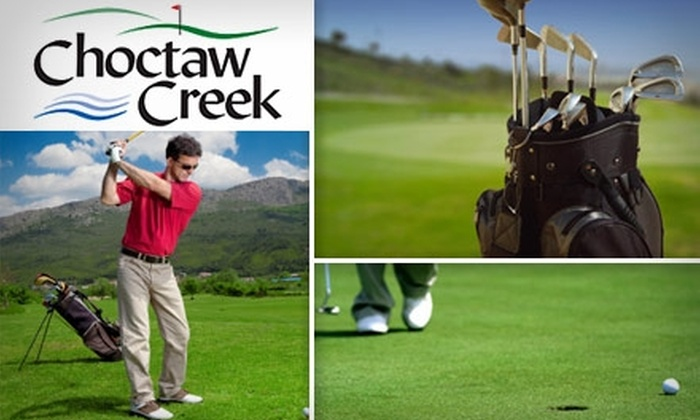 Choctaw Creek Golf Course - Choctaw: $29 for 18 Holes of Golf and Cart Rental at Choctaw Creek Golf Course