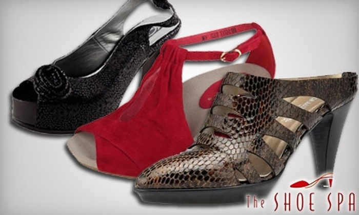 Shoe Spa - Palm Beach Gardens: $25 for $50 Toward a Shoe Purchase at The Shoe Spa