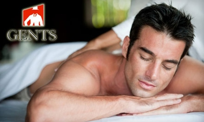 Gents Barbershop and Spa - Cranston: $42 for a 60-Minute Deep-Tissue Massage at Gents Barbershop and Spa ($85 Value)