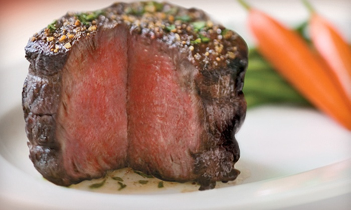 Capriccio Grill Italian Steakhouse - Downtown: $25 for $50 Worth of Upscale Italian Cuisine at Capriccio Grill Italian Steakhouse