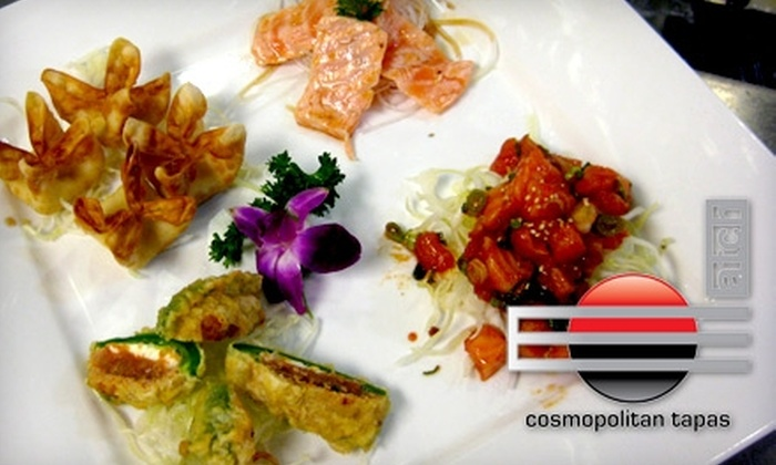 Match Restaurant - Silverado Ranch: $15 for $35 Worth of Tapas and Drinks at Match Restaurant