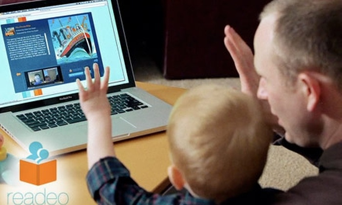 Readeo - Providence: $25 for a One-Year Subscription to Online Children's-Book-Sharing Service from Readeo