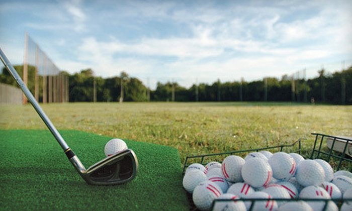 Dietz Creek Golf Range - East Lansing: $10 for $40 Worth of Driving-Range Balls and Concessions at Dietz Creek Golf Range in Williamston