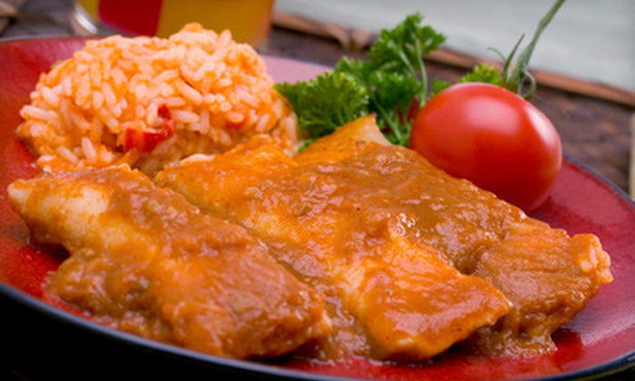 Sol Aztecas Grill & Cantina - Louisville: $15 for $30 Worth of Mexican Fare at Sol Aztecas Grill & Cantina