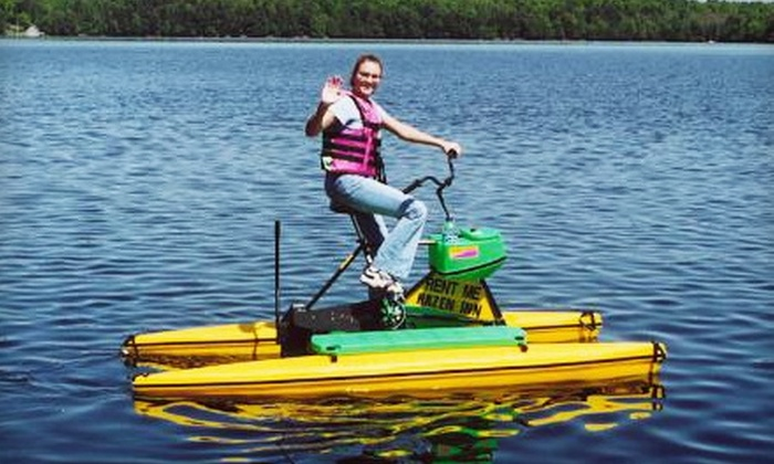 Waterbike Adventures - Tonawanda: $5 for a One-Hour Water-Bike Rental at Waterbike Adventures in Tonawanda ($10 Value)