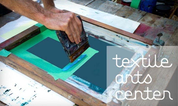Textile Arts Center - Gowanus: $100 for a Four-Week Adult Course at the Textile Arts Center