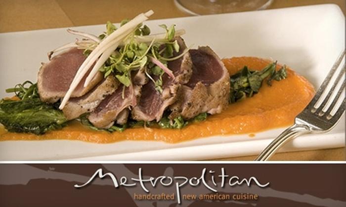 Metropolitan - Rio Grande: $25 for $50 Worth of Award-Winning Cuisine at Metropolitan