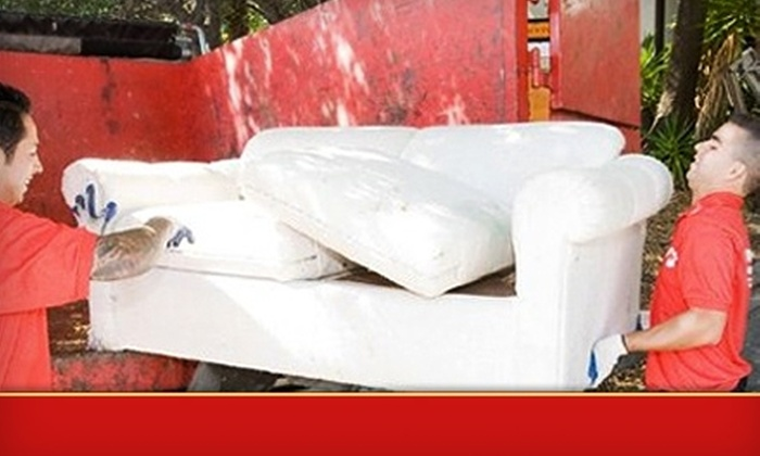 Junk King - Chattanooga: $40 for $100 Worth of Junk-Removal Services from Junk King