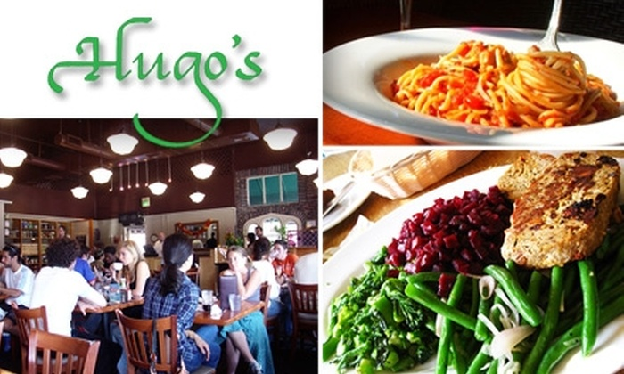 Hugo's Restaurant  - Multiple Locations: $30 Worth of Healthy Fare at Hugo's Restaurant