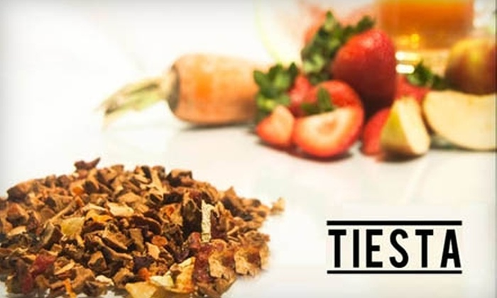 Tiesta Tea: $10 for $25 Worth of Tea and More from Tiesta Tea