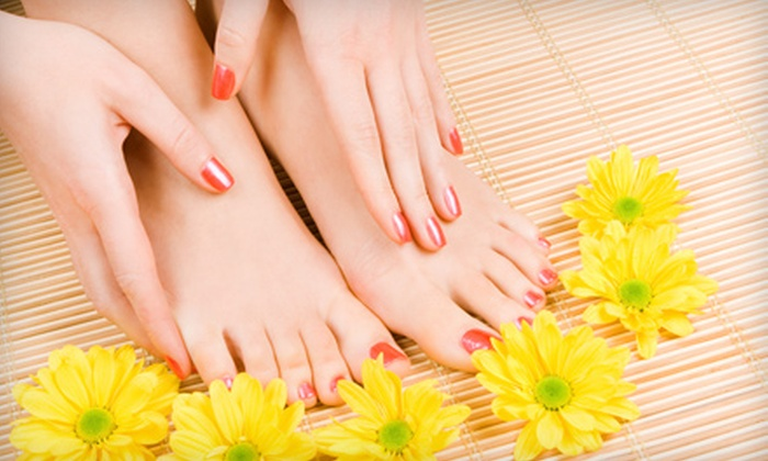 Heavenly Beauty Salon and Spa - Knightdale: $26 for an Ultimate Spa Mani-Pedi at Heavenly Beauty Salon and Spa in Knightdale ($53 Value)