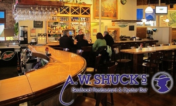 A. W. Shuck's - Downtown: $15 for $30 Worth of Fresh Seafood and Dinner Fare at A. W. Shuck's