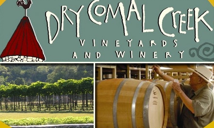 Dry Comal Creek Vineyards - Comal North: $10 Wine Tasting for Two and a Bottle to Take Home at Dry Comal Creek Vineyards (Up to $35 Value)