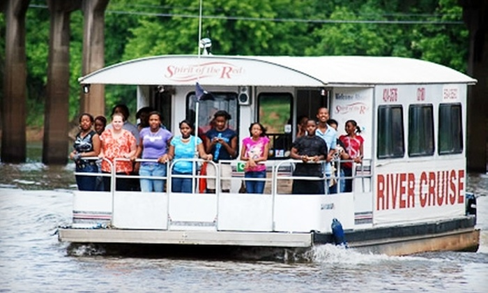 Spirit of the Red River Cruise - Shreveport: $12 for Two Tickets to the Spirit of the Red River Cruise (Up to $24 Value)