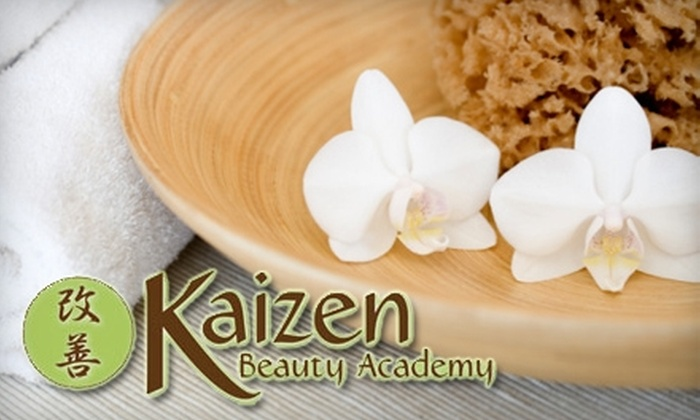 Kaizen Beauty Academy - Westview: $37 for a Facial-Stone Massage, Antioxidant Treatment, and More at Kaizen Beauty Academy ($100 Value)