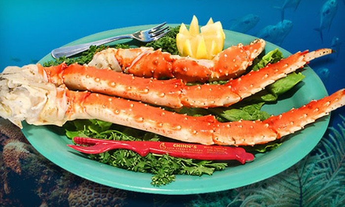 Chinn's 34th Street Fishery - Lisle: $25 for $50 Worth of Fresh Seafood Fare for Dinner